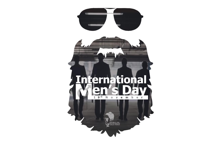 Фото обои Men, Double Exposure, Photo Manipulation, International Mens Day