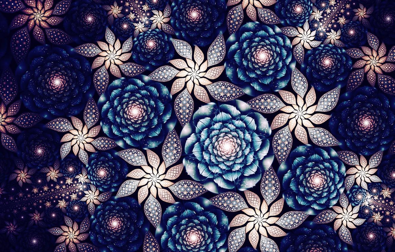 Обои фрактал, Цвет, узор. Абстракции foto 6