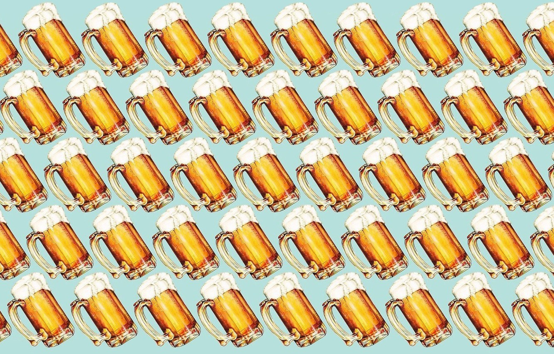 Фото обои пена, минимализм, алкоголь, кружка, Пиво, напиток, minimalism, foam, mug, alcohol, Beer, beverage