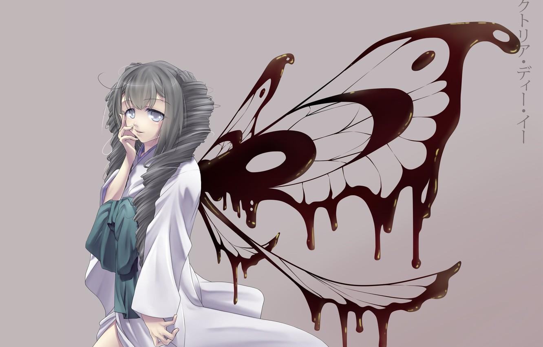 Фото обои девушка, крылья, фея