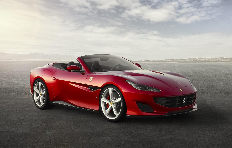 Фото обои Ferrari, суперкар, феррари, Portofino, портофино