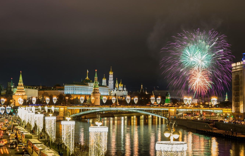 Обои россия, ночь, салют. Города foto 7