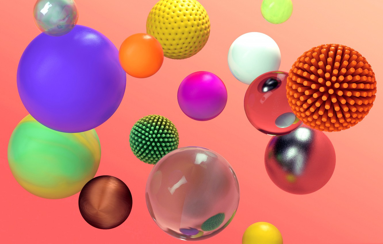 Обои шар, краски. Абстракции foto 6