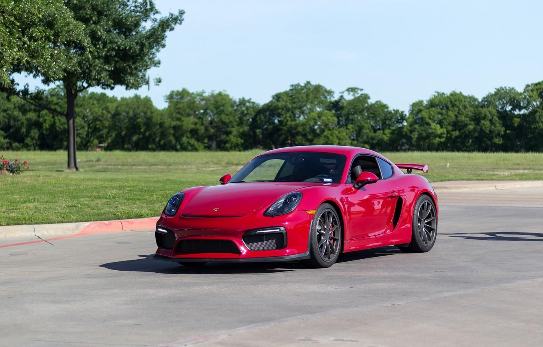 Фото обои Porsche, Cayman, GT4