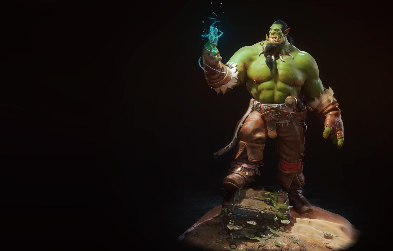 Фото обои fantasy, орк, orc, Aleksey Svischev