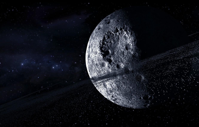 Фото обои космос, тело, Ночь, красиво