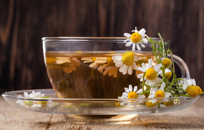 Чай с ромашкой фото картинки