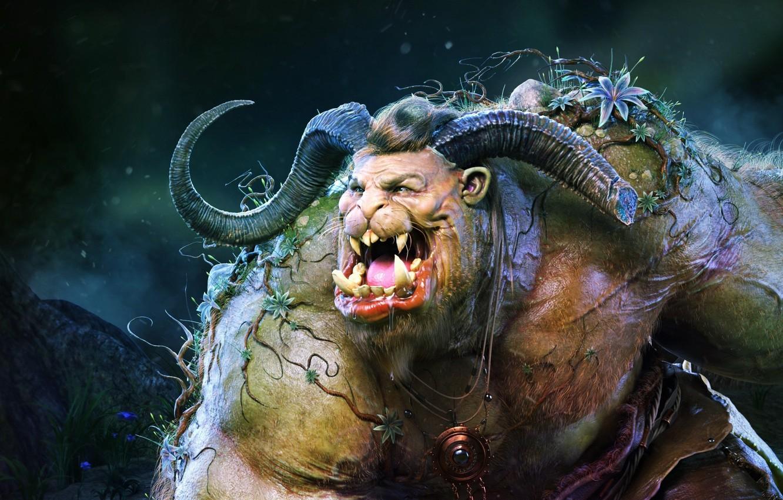 Фото обои fantasy, Beast Personal Project, Andrey Gritsuk