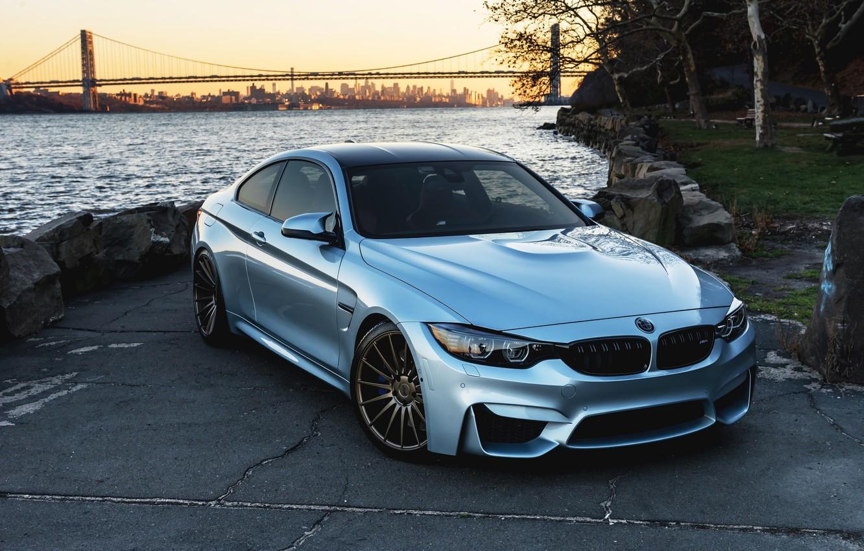 Фото обои BMW, Blue, F82, Sight