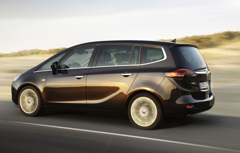 Фото обои Opel, Zafira, Tourer, минивен