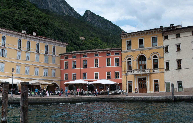 Обои Trentino Alto Adige, italia, trento, трентино-альто-адидже, Рива-дель-Гарда, italy, Riva del Garda. Города foto 6