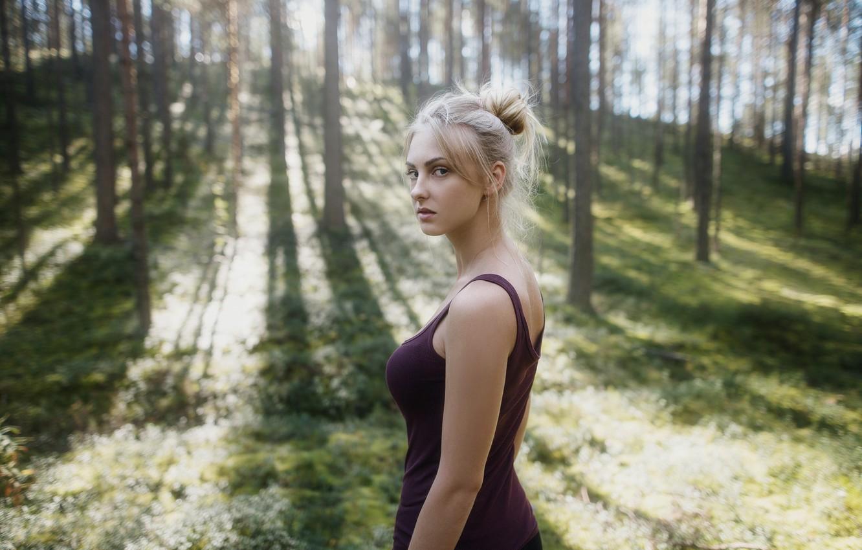 Блондинки на природе фото фото #3