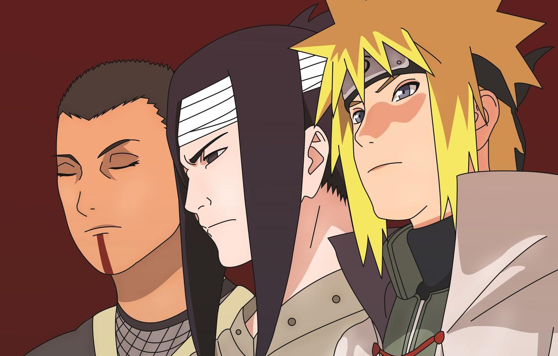 Фото обои game, Naruto, anime, man, face, ninja, asian, manga, hokage, shinobi, japanese, Namikaze Minato, Naruto Shippuden, …