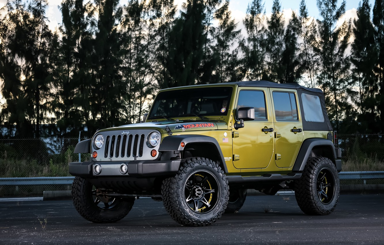 Фото обои Mountain, Wrangler, Jeep, Edition
