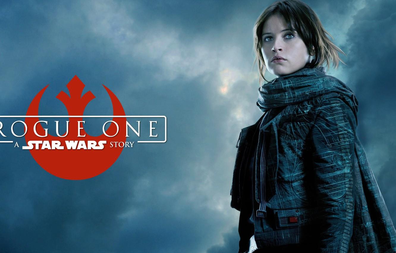 Фото обои Felicity Jones, Star Wars Rogue One, Jyn Erso