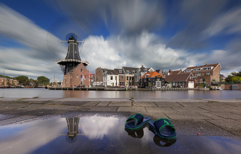 Обои нидерланды, Голландия, Haarlem. Города foto 15