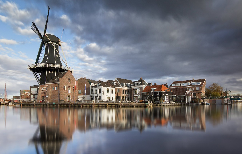 Обои нидерланды, Голландия, Haarlem. Города foto 8