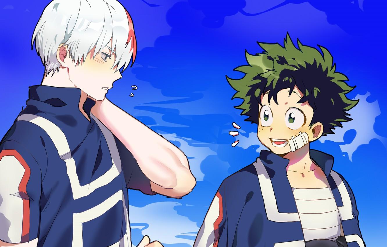 Фото обои аниме, арт, Boku no Hero Academia, Моя геройская акадеимя