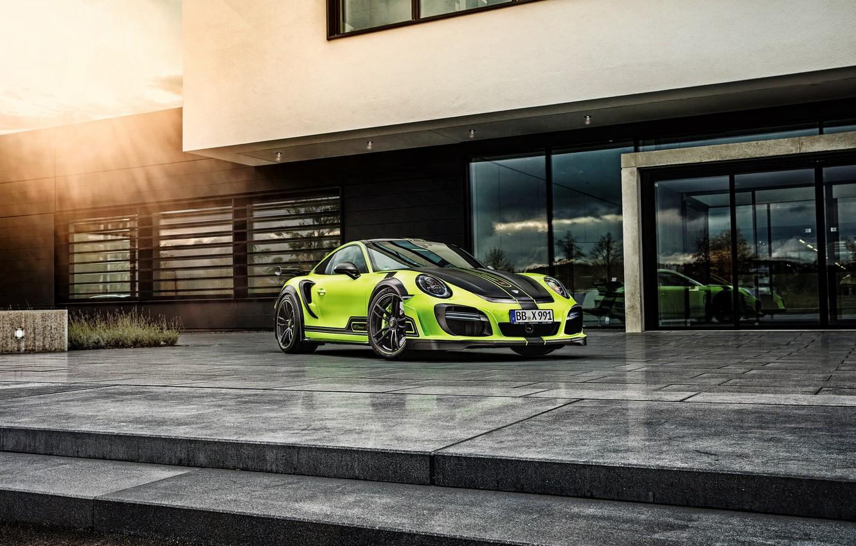Фото обои 911, Porsche, порше, Turbo, турбо, TechArt
