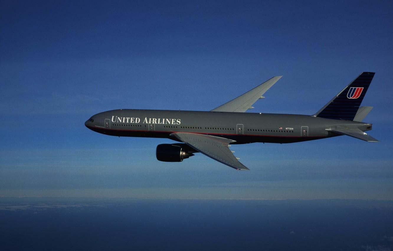 Фото обои небо, авиация, самолет, боинг