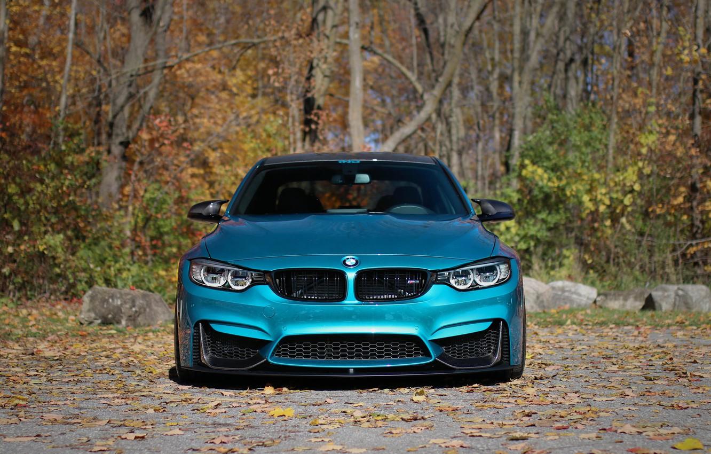 Фото обои BMW, Autumn, Face, F80, Sight