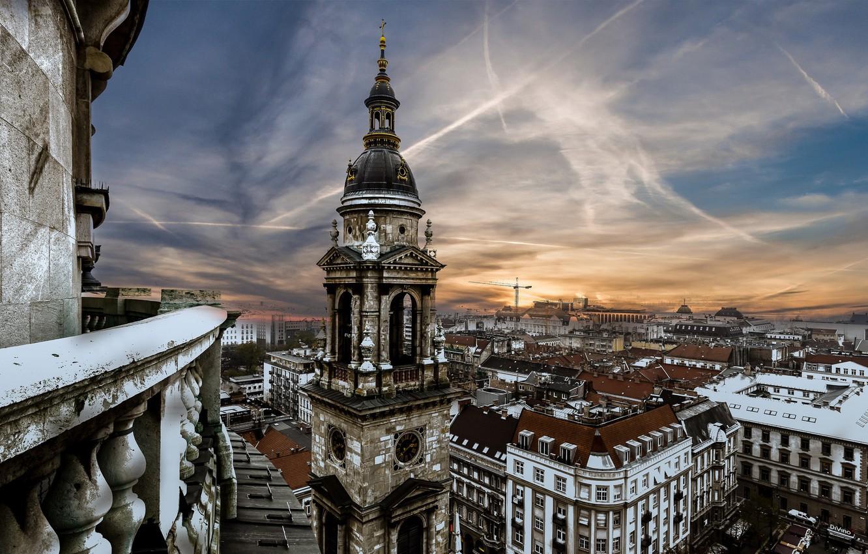 Фото обои Budapest, архитекектура, St Stephens Basilica