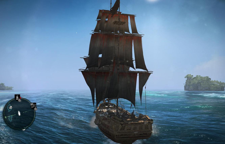 Фото обои Assassins Creed, Ubisoft, Black Flag, Assassins Creed IV Black Flag