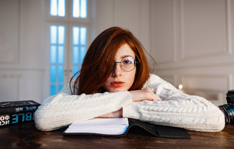 Redhead Librarian