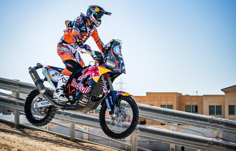Фото обои Спорт, Скорость, Мотоцикл, Гонщик, Мото, KTM, Bike, Moto, 450, Motorbike