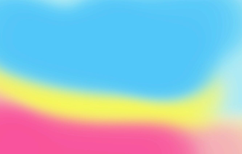 Фото обои жёлтый, розовый, голубой, цвет, минимализм