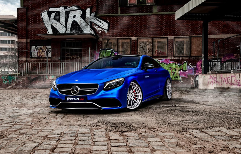 Фото обои купе, Mercedes, мерседес, AMG, Coupe, S-Class, C217