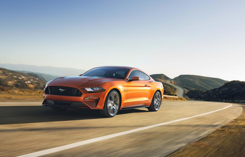 Фото обои Car, Ford Mustang GT