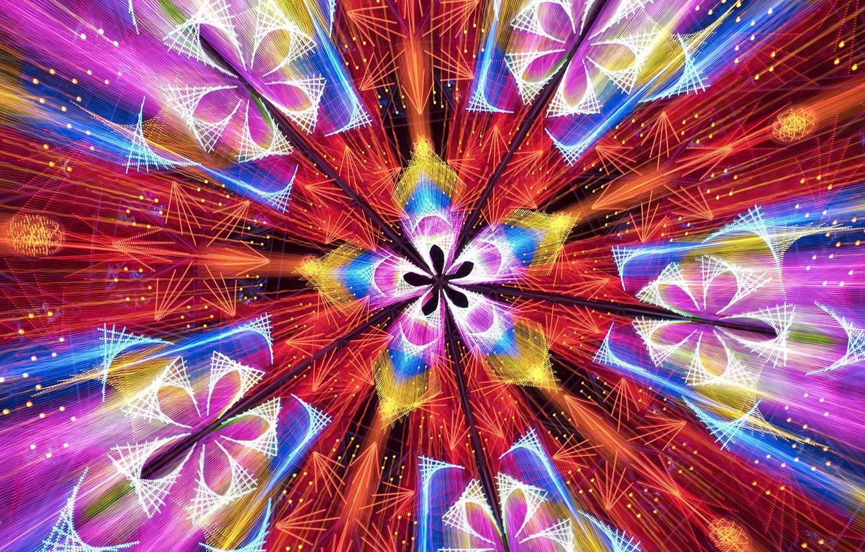 Фото обои цвет, текстура, форма