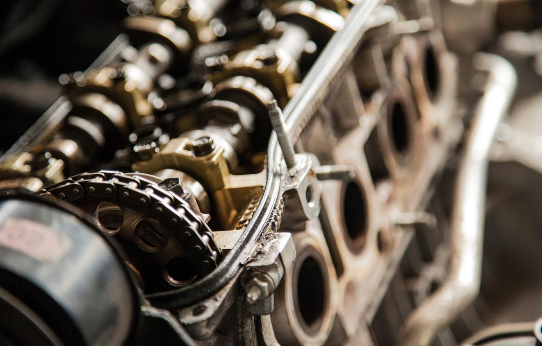 Фото обои metal, gears, engine