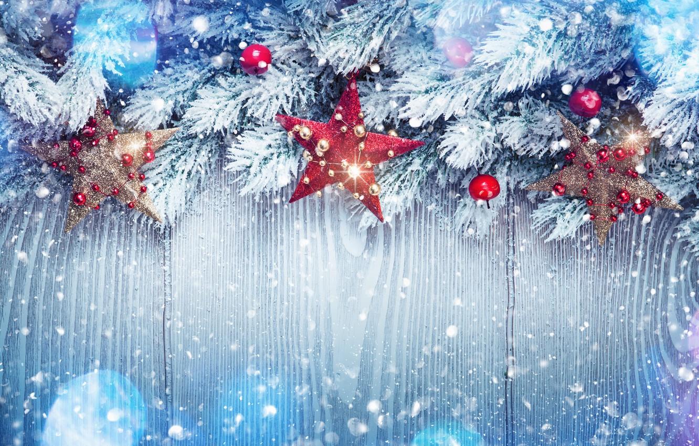 Фото обои зима, снег, украшения, елка, Новый Год, Рождество, happy, Christmas, winter, snow, New Year, Merry Christmas, …