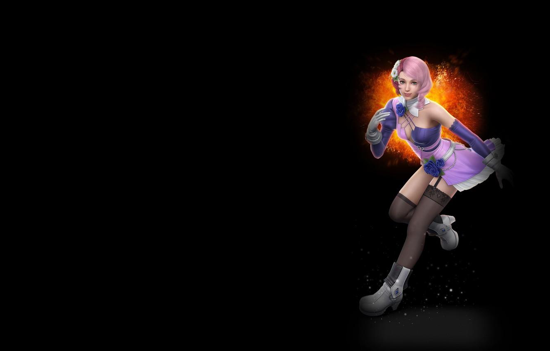 Фото обои игра, аниме, арт, персонаж, Tekken 6, Алиса Босконович, робот-гиноид, Ариса Босуконобитти