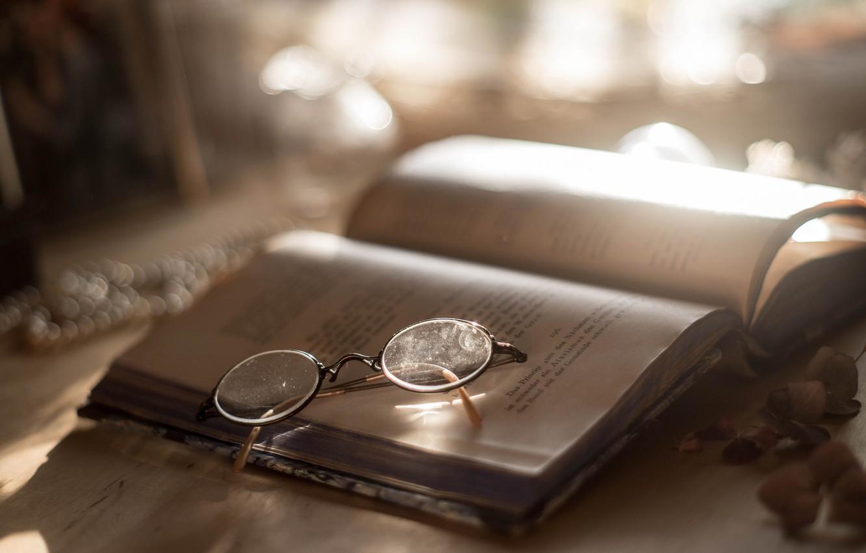 Обои книги, очки. Разное foto 9