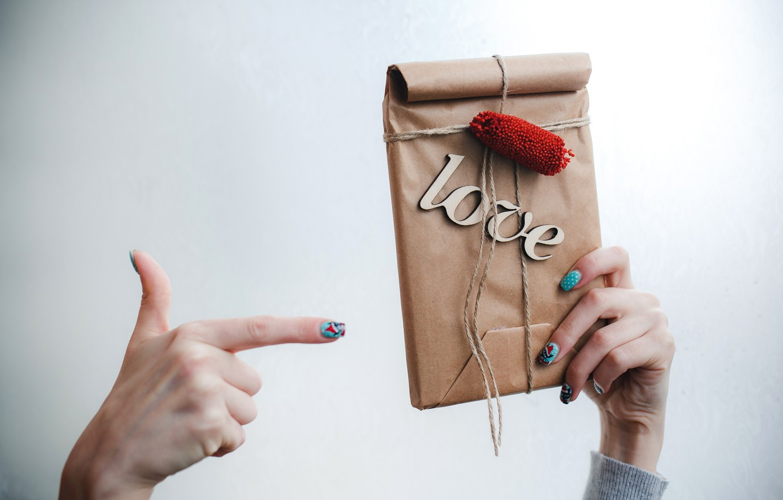 Фото обои подарок, love, heart, romantic, gift