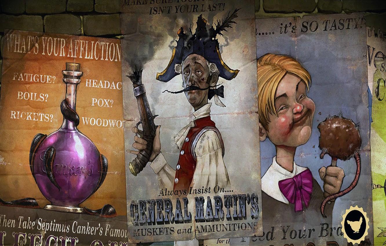 Фото обои Рисунок, Плакат, Арт, Заставка, Fable III