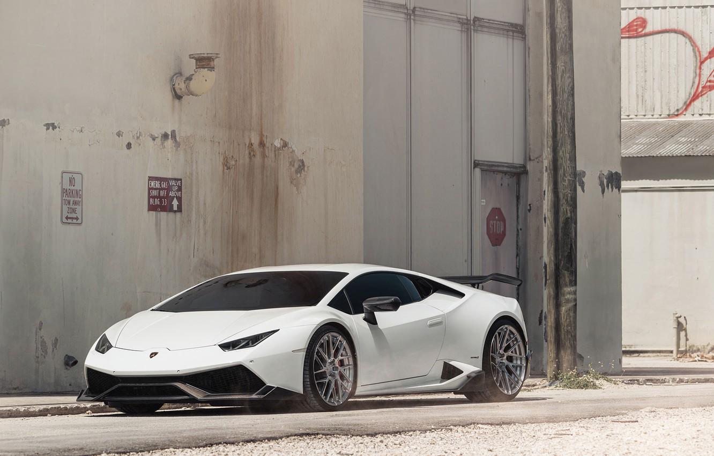 Обои Lamborghini, White. Автомобили foto 16