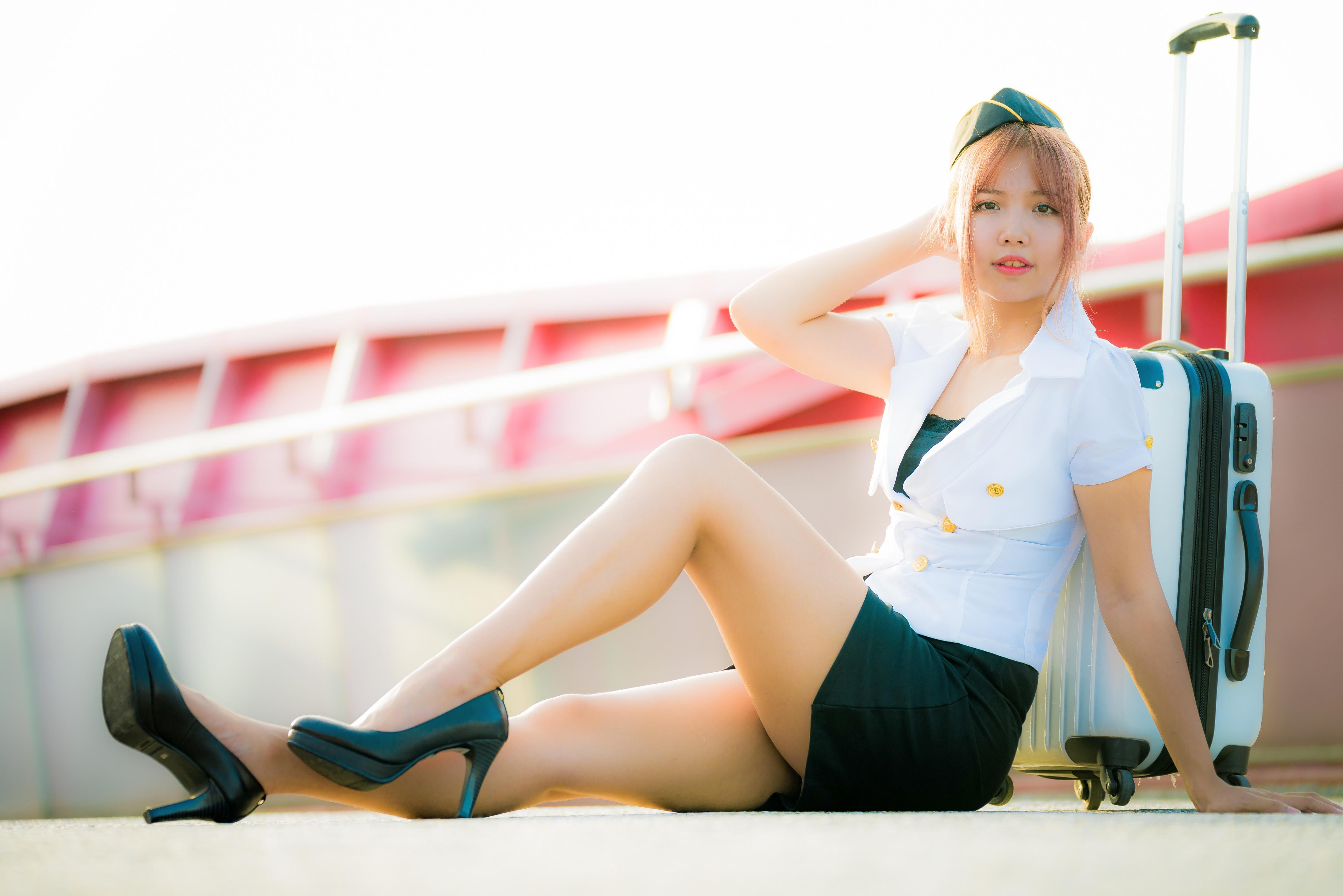 Стюардесса в колготках фотографии, Голые стюардессы на фото и обнаженные девушки » 14 фотография