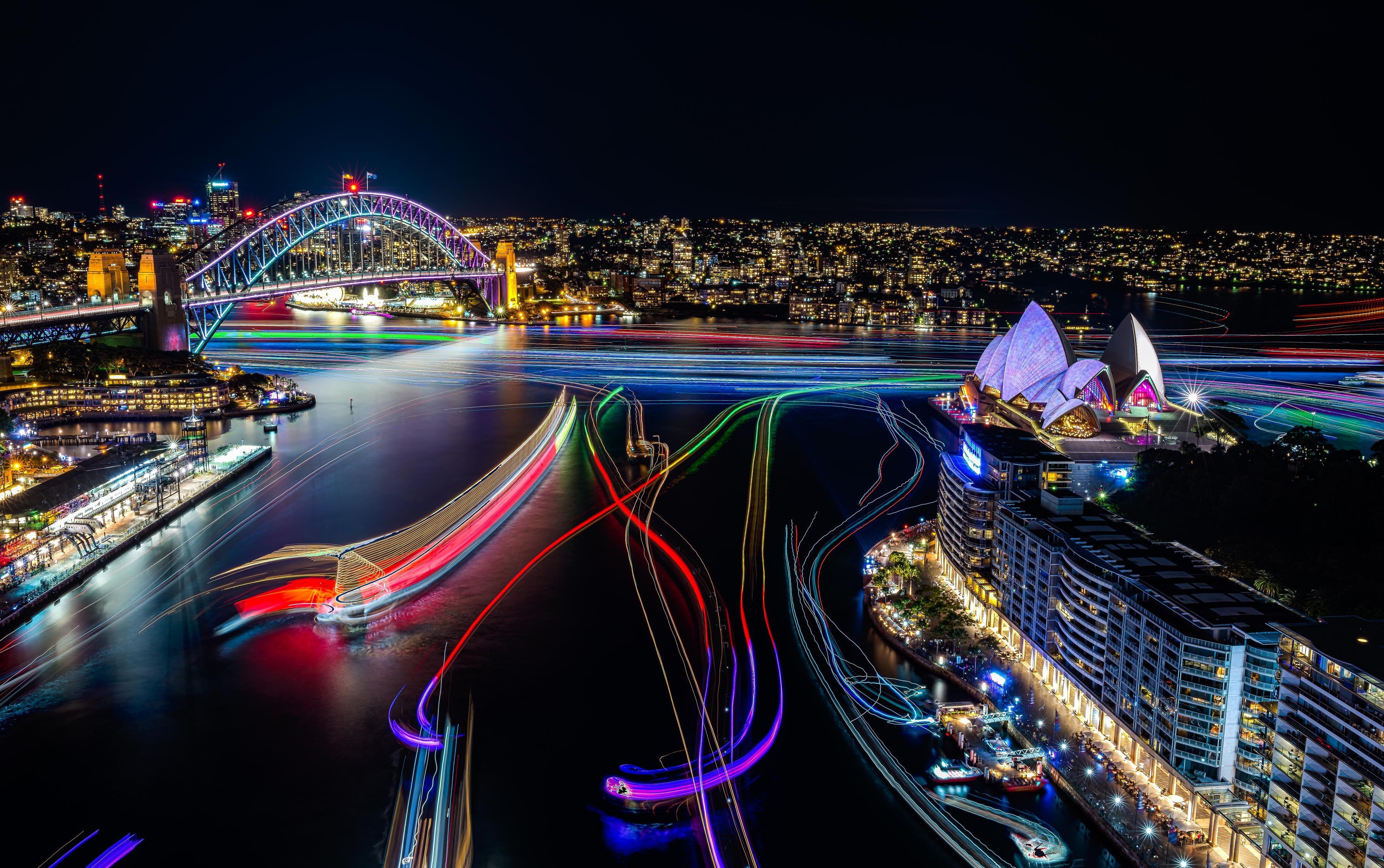 vivid sydney 2019 time - HD2880×1800