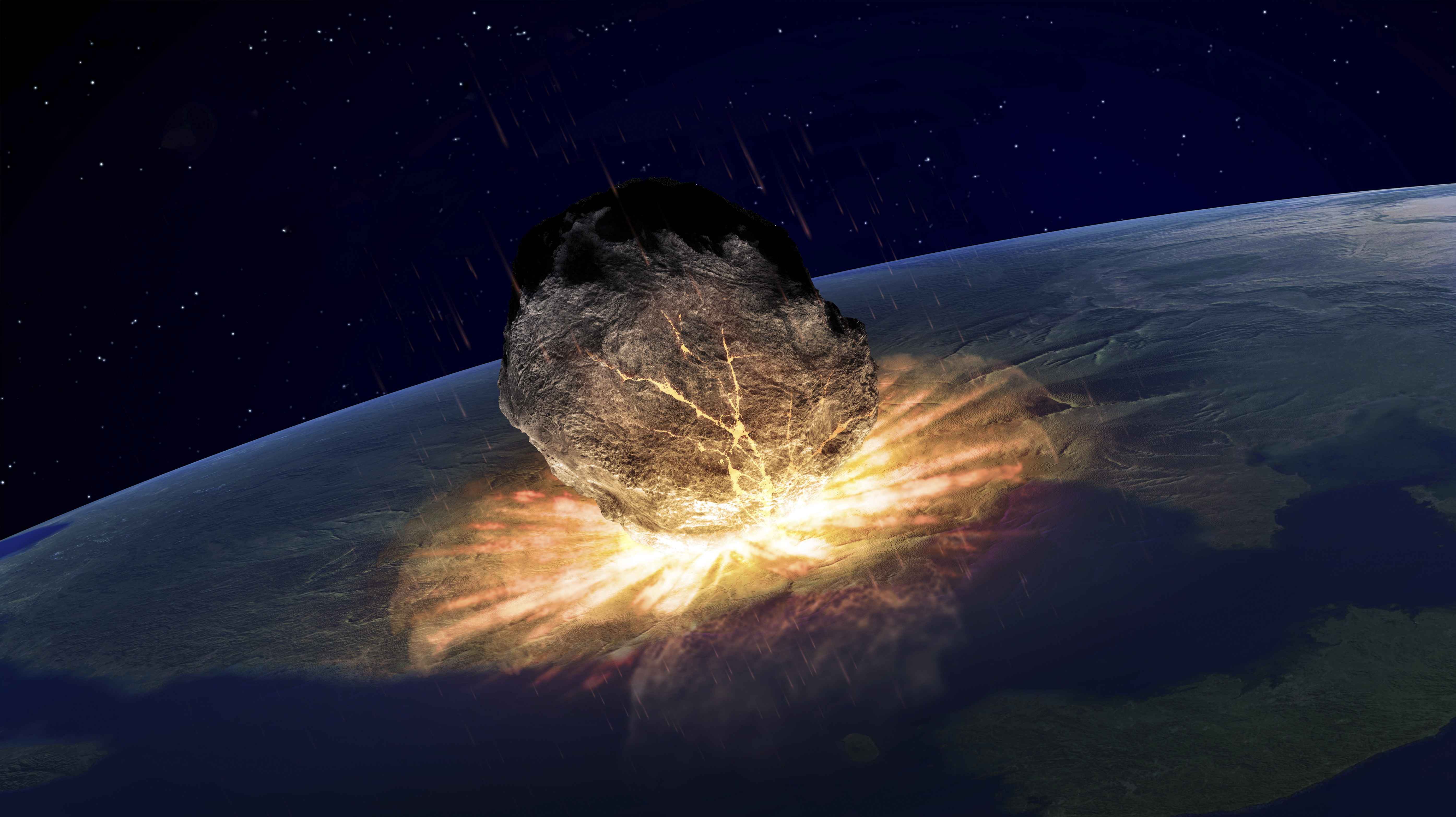 will asteroids hit the earth - HD1200×800