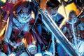 Картинка fantasy, chains, comics, Harleen Frances Quinzel, sword, Deadshot, Suicide Squad, Harley Quinn, Floyd Lawton, Amanda ...