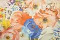 Картинка цветы, текстура, ткань