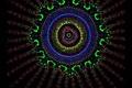 Картинка psy, психоделика, иэотерика, фантазия, око, сияние, фракталы