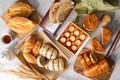 Картинка ассорти, пирожные, выпечка, чай, булки, сдоба