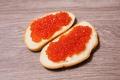 Картинка colorful, икра, bread, бутерброды, caviar, морепродукт, Seafood