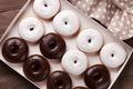 Картинка пончики, chocalate, глазурь, donuts