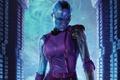 Картинка cinema, blue, Nebula, movie, film, Guardians Of The Galaxy, Guardians Of The Galaxy Vol. 2